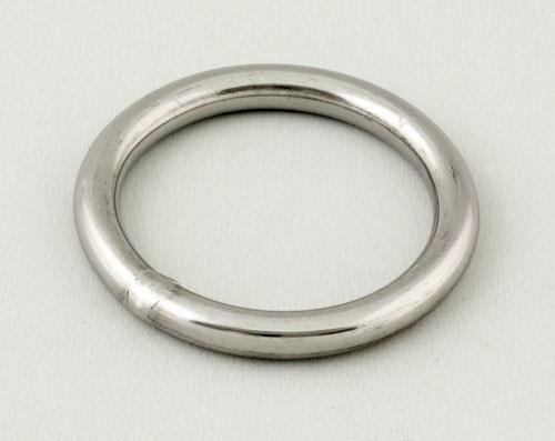 Ring rostfri 9mm inv 60mm