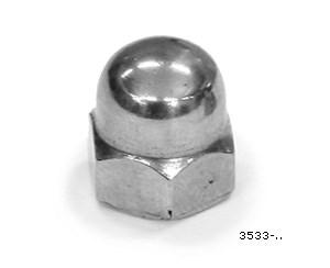 Kupolmutter M10. FP=2st