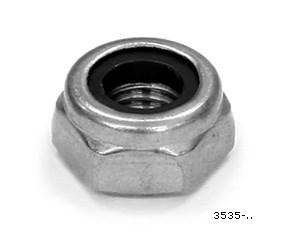 Låsmutter M10. FP=4st