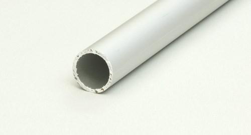 Rör aluminium 25mm, 6m