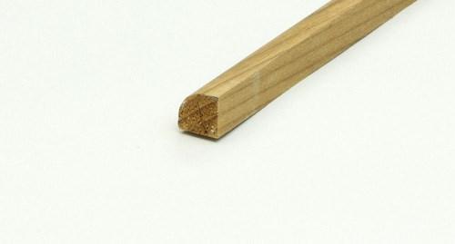 Kvartsstav 13x13mm, 2m