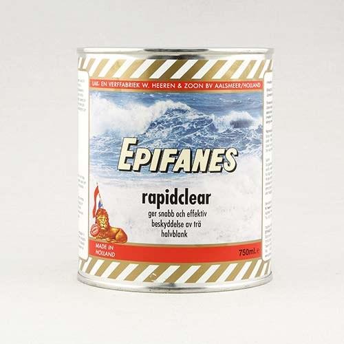 Epifanes Rapid Clear 750ml, halvblank