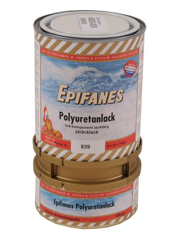 Epifanes Polyuretanlack Gelcoatvit 750gr.