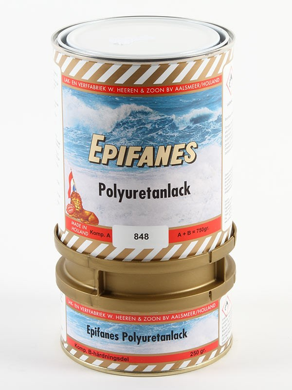 Epifanes Polyuretanlack Stockholmsvit 750gr.