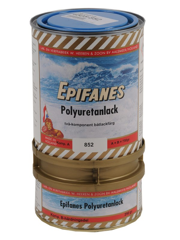 Epifanes Polyuretanlack blå 750gr.