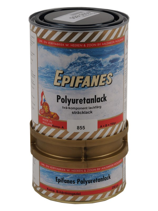 Epifanes Polyuretanlack mörkblå 750gr.