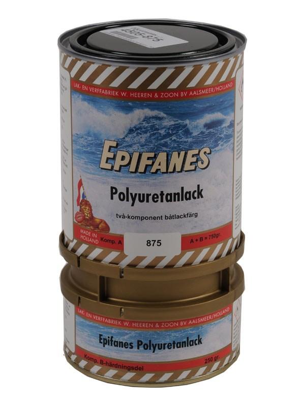 Epifanes Polyuretanlack mörkgrön 750gr.