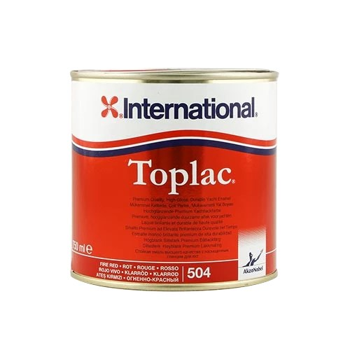 Toplac Fire Red 750ml