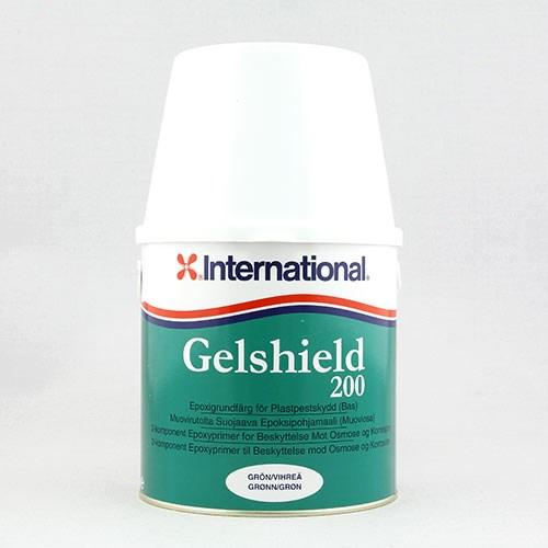 Gelshield grön bas+härdre 2.5liter