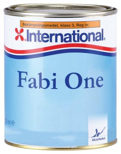 Fabi One svart 750ml