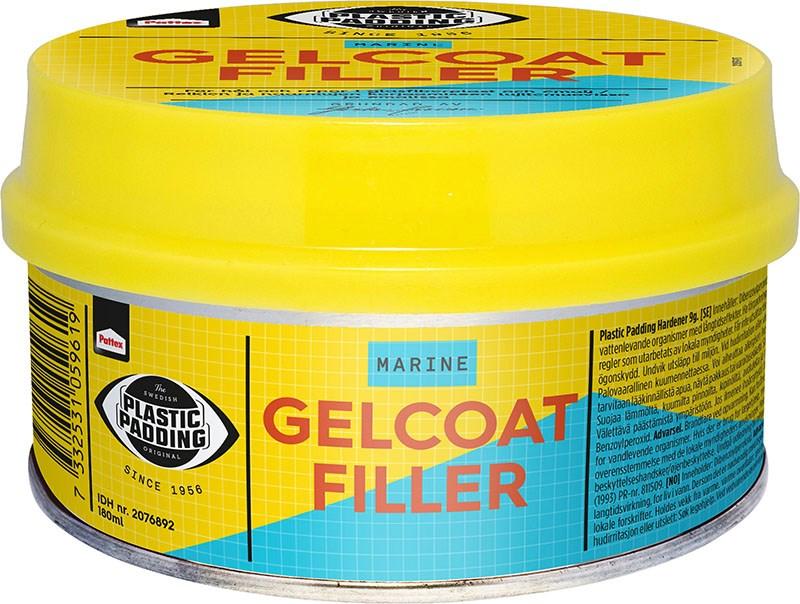 Gelcoatfiller vit burk 180ml