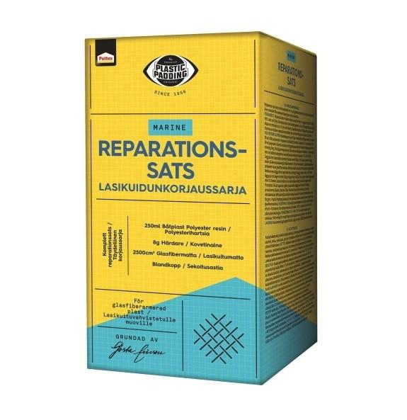 Reparationssats polyester Plastic Padding
