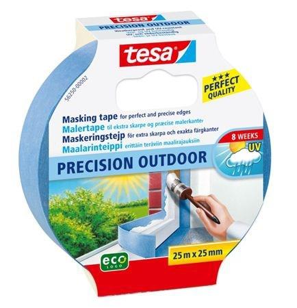 Tesa Maskeringstejp blå precision outdoor