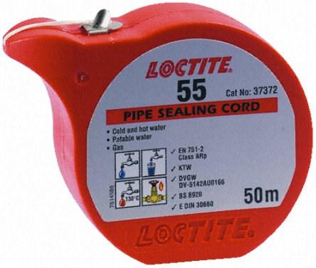 Gängtätningstråd  Loctite 55  (50m)