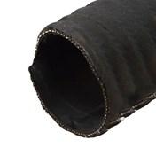 Avgasslang svart 90mm