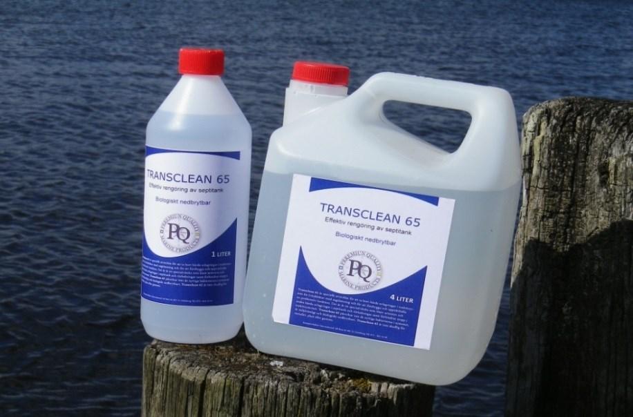 Transclean 65 för septi 4liter
