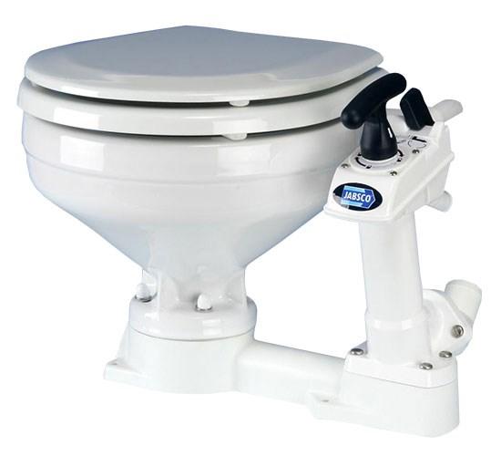Toalett Jabsco Manuell, Stor skål