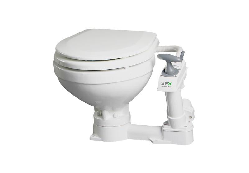 Toalett Johnson Aqua manuell, Stor skål