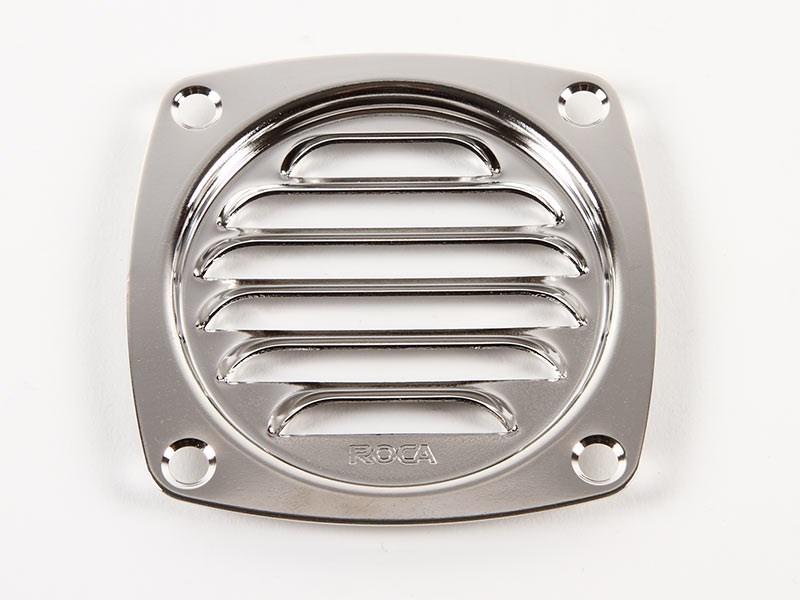 Ventilgaller Watski/ROCA rostfri 82x82mm
