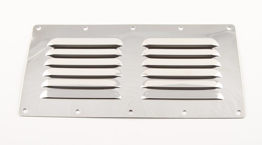 Ventilgaller rostfri 227x115mm