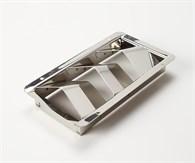 Ventilgaller 3 gälar rostfri 185mm