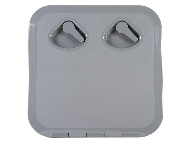 Lucka 370x375mm grå