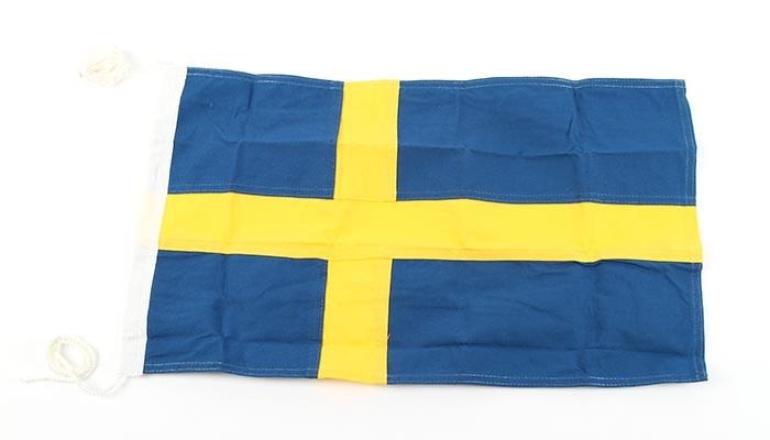 Flagga Polyester 70cm