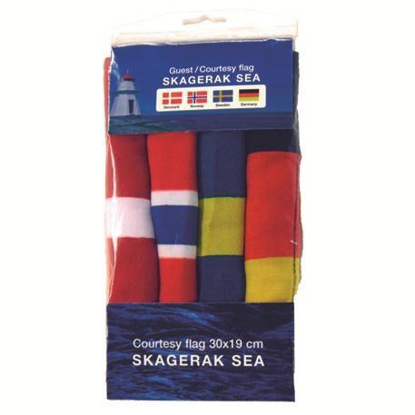 Gästflaggor 4st Skagerak