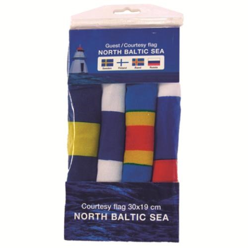 Gästflaggor 4st Baltic Sea