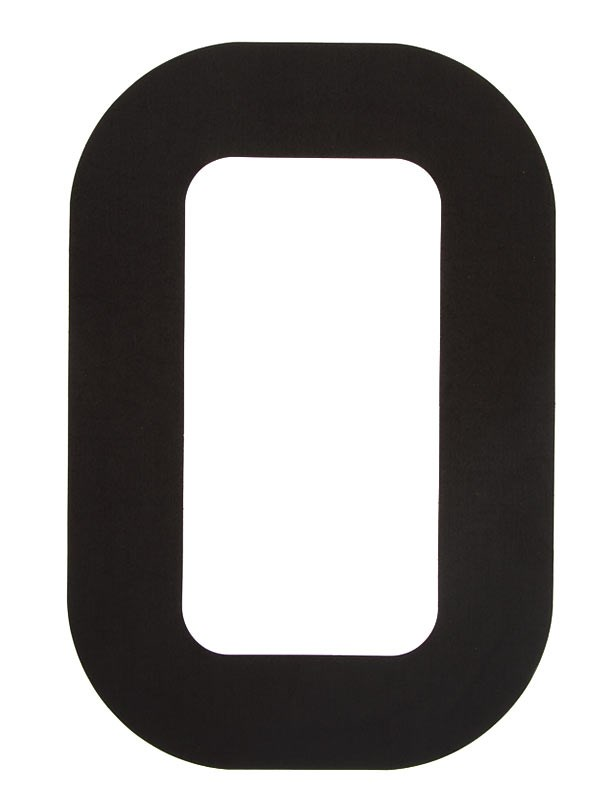Segelsiffra 0, 23cm (optimist)