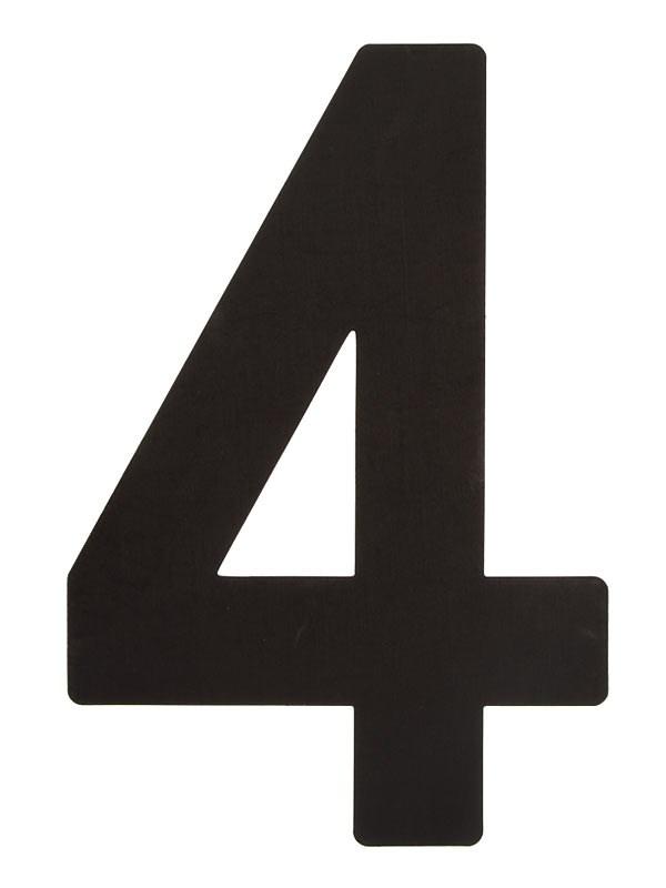 Segelsiffra 4, 38cm
