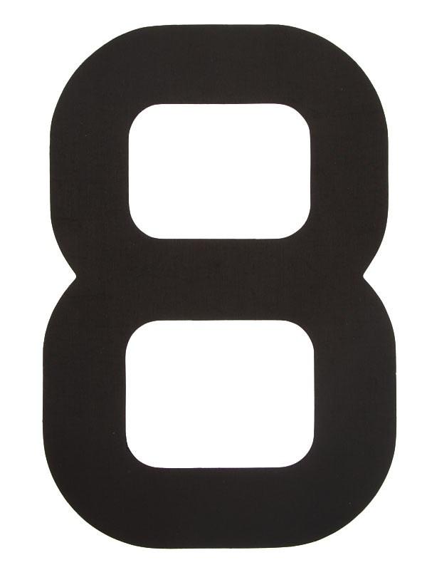 Segelsiffra 8, 38cm