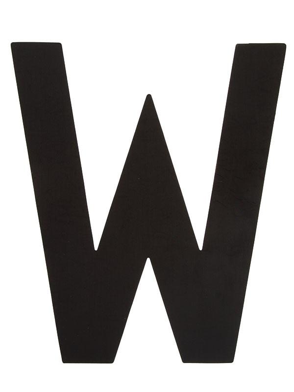 Segelsiffra W, 38cm