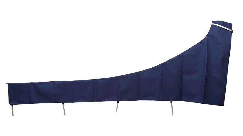 Segelkapell 400cm mörkblå
