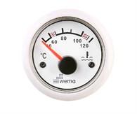 Temperaturmätare Wema 40-120° vit