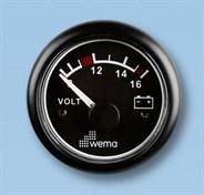 Voltmätare analog Wema 12V