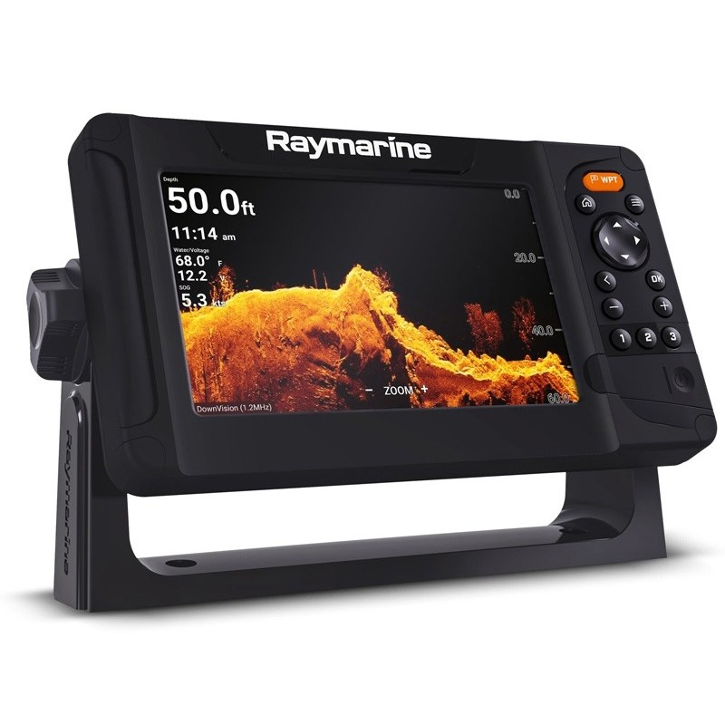 Raymarine Element 9tum Plotter/Ekolod Hypervision