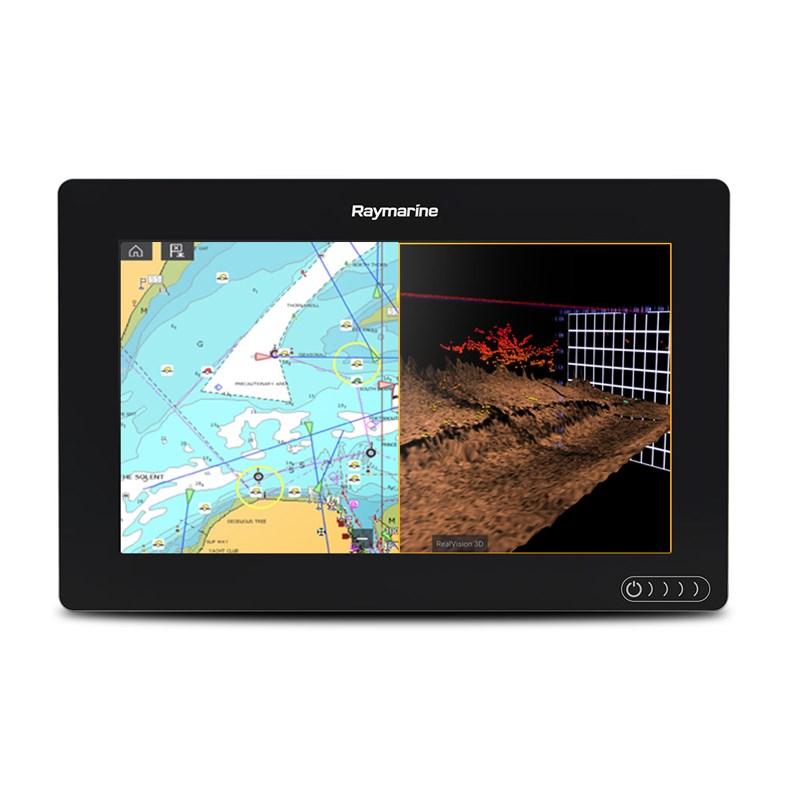 Raymarine Axiom 9tum RV Plotter/3D-ekolod inkl CPT100DVS-givare