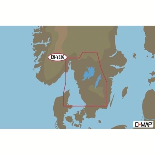 C-Map Discover Y206 Västkusten/Vänern