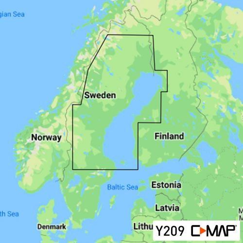C-Map Discover Y209 Bottenviken