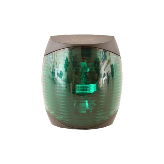 Lanterna LED Styrbord Svart 2NM