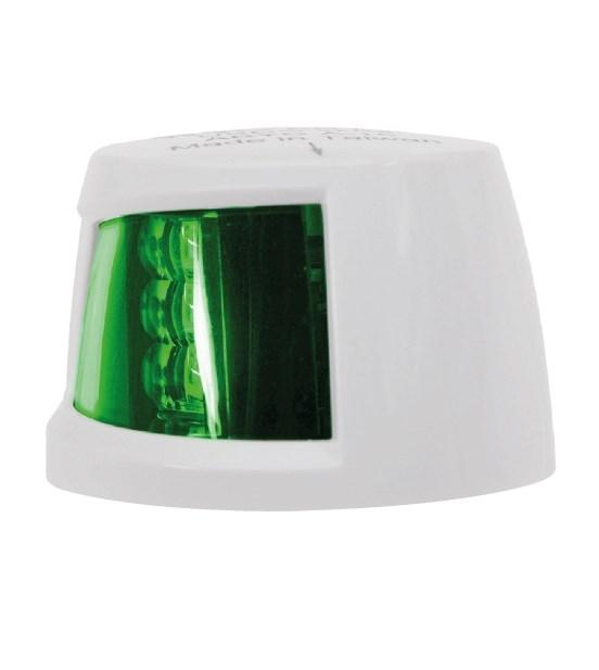 Lanterna LED Styrbord Vit 2NM liten