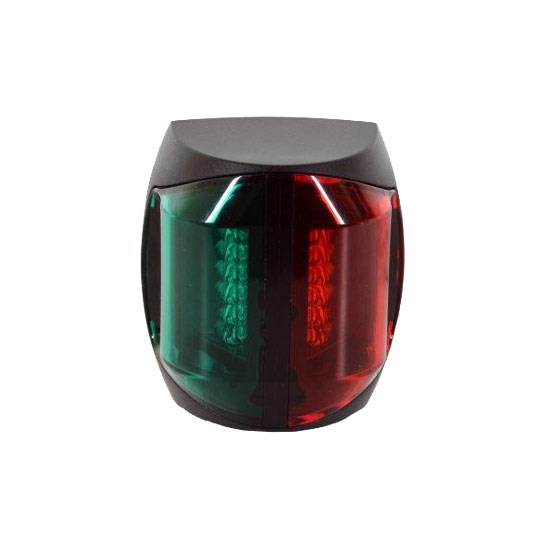 Lanterna LED Dubbel Svart 2NM