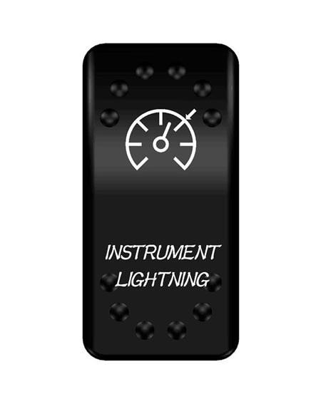 Lock med symbol Instrumentbelysning