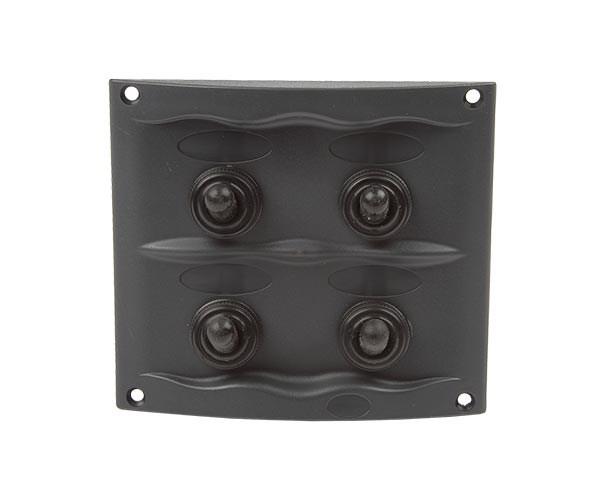 El-panel 107x95mm 4st brytare