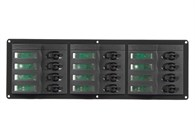 El-panel B351x115 12 auto-brytare.