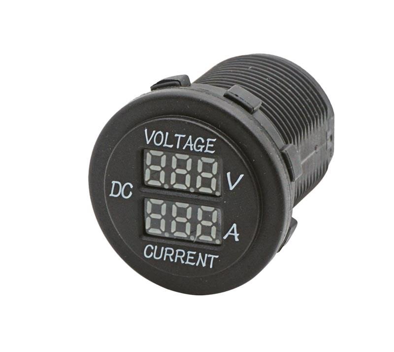 Digital Volt- och Amperemätare