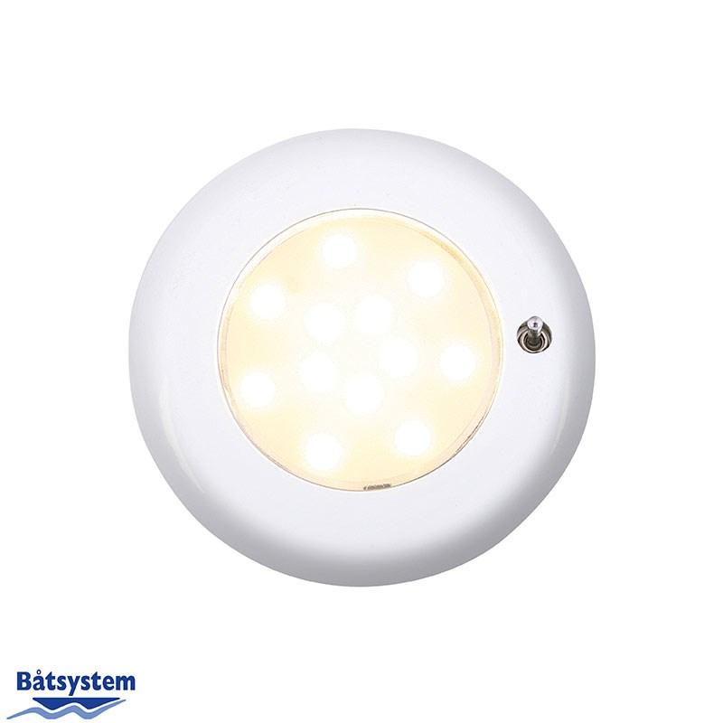 Nova II SMD LED, vit, switch/2345