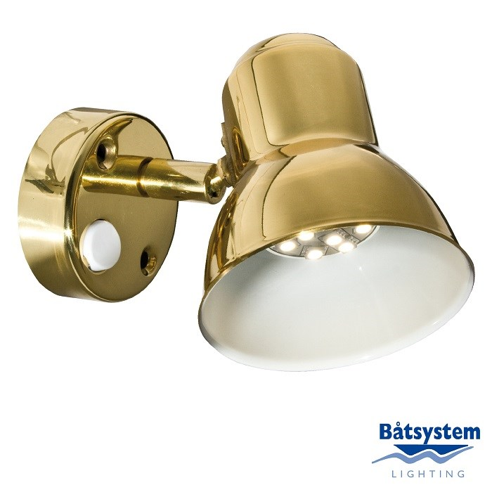 Båtsystem Classic SMD LED mässing/2508