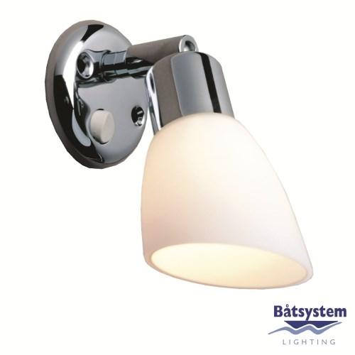Båtsystem belysning Opal LED krom/2460